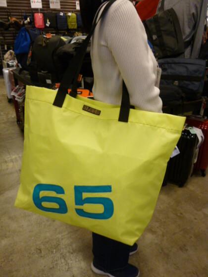 ドイツ発ヨットセイルメーカー【BLOND】ブロンドのバッグ