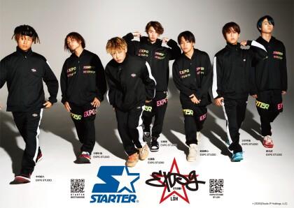 STARTER × EXPG STUDIO BY LDH