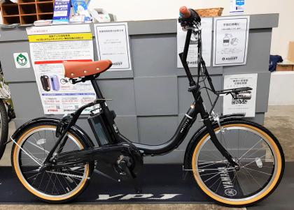 タイヤは小さくてもひと漕ぎ進む距離は26インチの電動アシスト自転車と同じ <PAS CITY-C >入荷しました