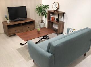 *1人暮らしにぴったりなコンパクトサイズの家具のご紹介*