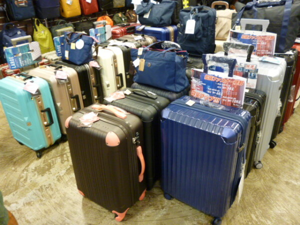 修学旅行や国内旅行に最適なキャリーケース取り揃えています!