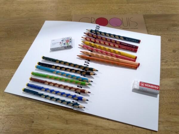 正しい持ち方が身につく鉛筆