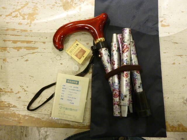 1955年創業、飯田製作所の杖(つえ)ステッキ